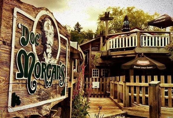 Doc Morgan Pub Menus Bowen Island BC Pub Menu Pub Food Delivery Service Bowen Island