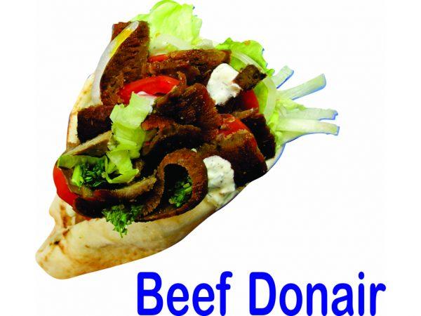Beef Donair Burnaby BC Mr Greek Donair Shop