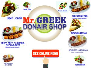 Burnaby Donair Mr Greek Donair Shop Burnaby BC