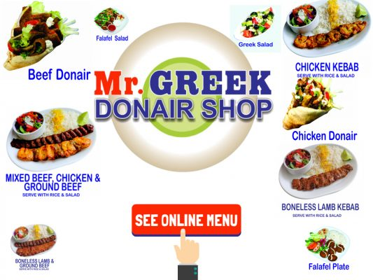 Best Donair In Burnaby Donair Mr Greek Donair Shop Burnaby BC