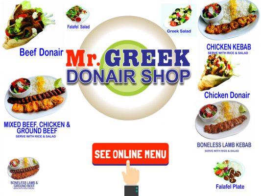Best Donair In Burnaby Donair Mr Greek Donair Shop Burnaby BC