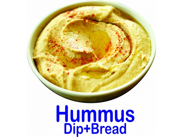 Hummus Dip And Bread Burnaby BC Mr Greek Donair Shop